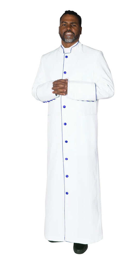 Clergy Cassock Robe White - Trinity Robes