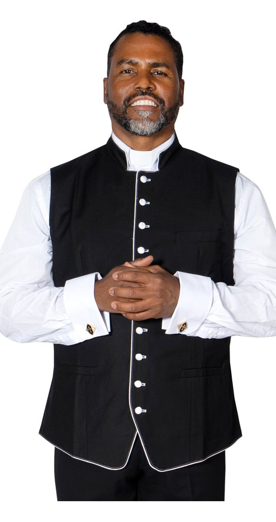 2a3febed28d Clergy Vest For Preacher Pastor – Trinity Robes