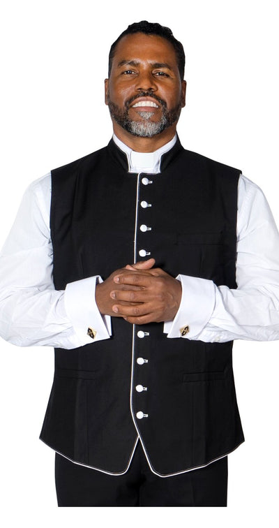Clergy Vest For Preacher Pastor - Trinity Robes
