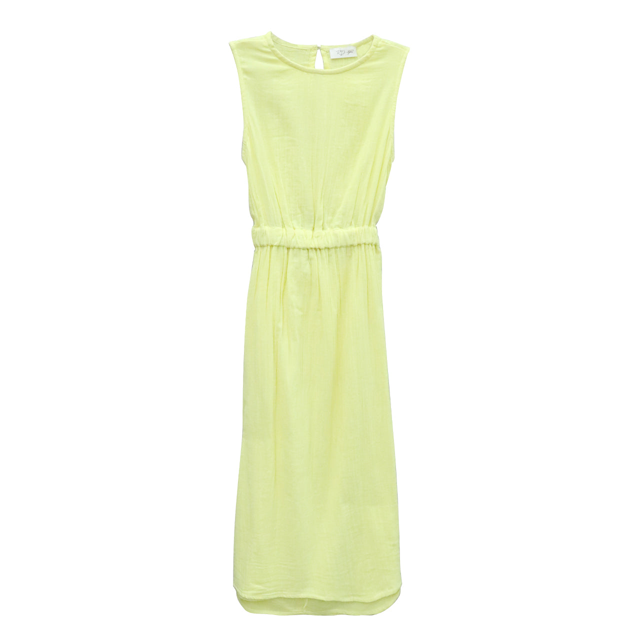 Midi Dress - Yellow