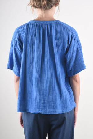 Britton Top - Blue Spell