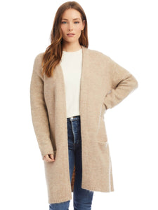 Long Cardigan - Oat