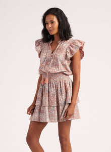 Rachelle Mini Dress - Marled