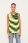 Navy Stripe Tank