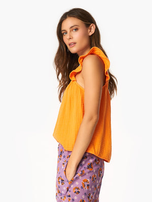 Rue Tank Top - Orange