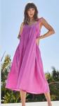 Kynsley Dress - Pink Orchid