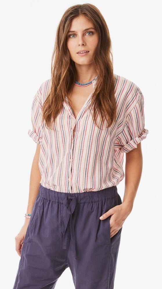 Channing Shirt - Natural Blush