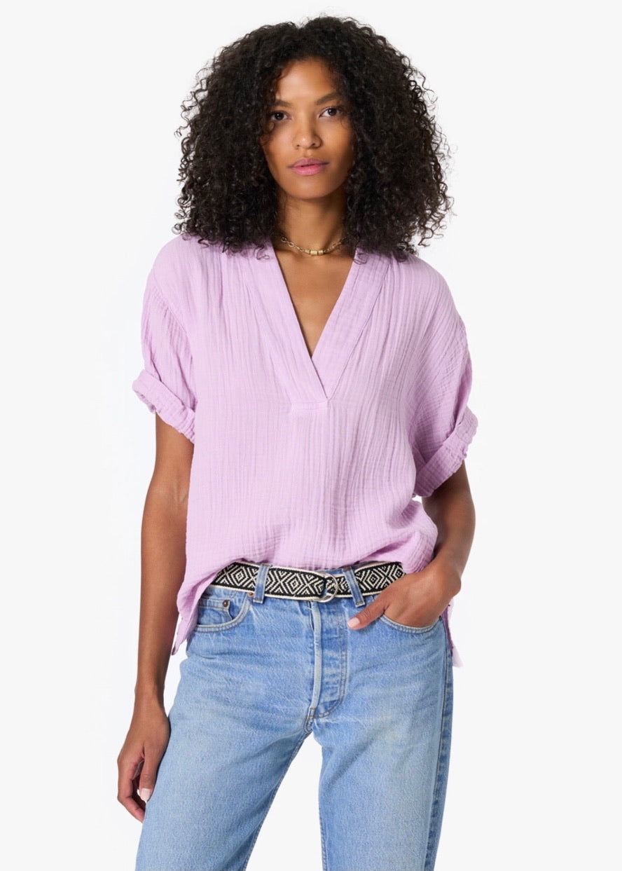 Avery Top - Light Lilac