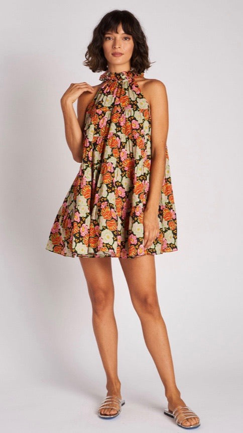 Billy Dress In Electric Petal