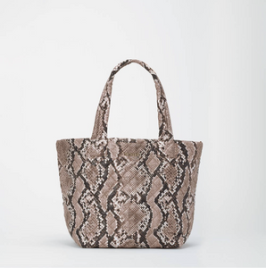 Metro Tote Deluxe in Brown Snake