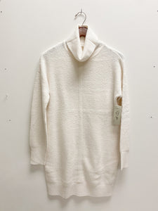 Winter White Turtleneck Tunic