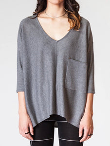 Raven Top - Dark Grey