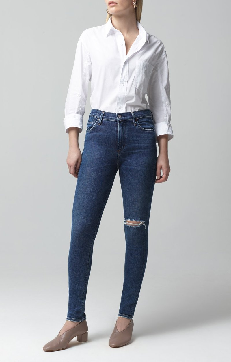 Rocket Mid Rise Skinny - Swing Low