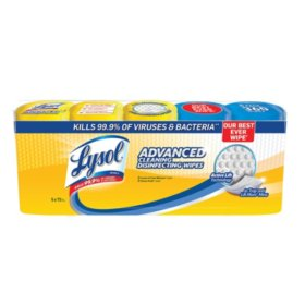 Lysol Disinfecting Wipes, Variety Pack (5 pk., 72 ct each) ( Limit 2 cs )