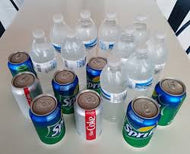 Assorted Sodas and Water