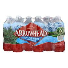 Arrowhead Spring Water  24- 16.9oz bottles/cs   (Limit 2 cases)