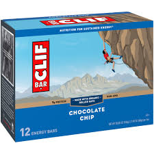 Clif Bar Chocolate Chip  Energy Bar (12-2.4 oz)