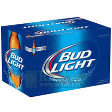 Bud Light Beer 24/cs (24-12oz bottles)