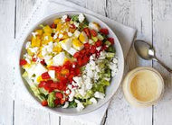 Vegetarian Cobb Salad