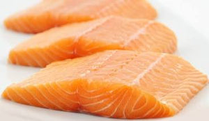 Salmon Fillets - 2.25 lb bag  (6 oz. vacuum sealed - 6 fillets) Frozen
