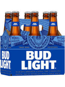Bud Light Beer 6pk bottle