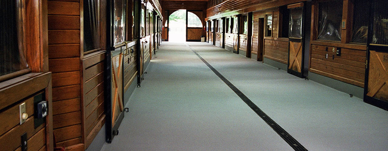 Equine Seamless Flooring Abacus Surfaces