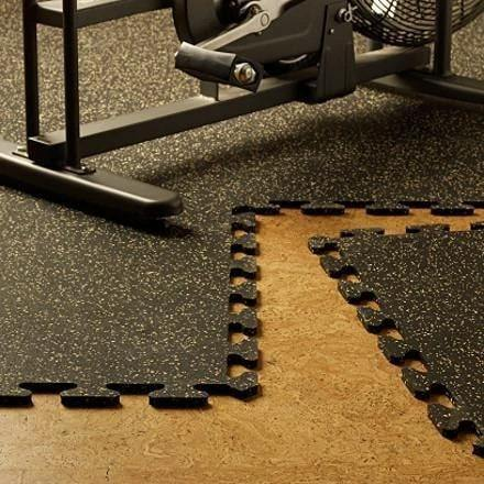 Powerstock home gym flooring kit color option
