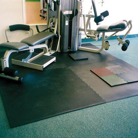 POWERStock® VulcanFit Rubber Gym Mats