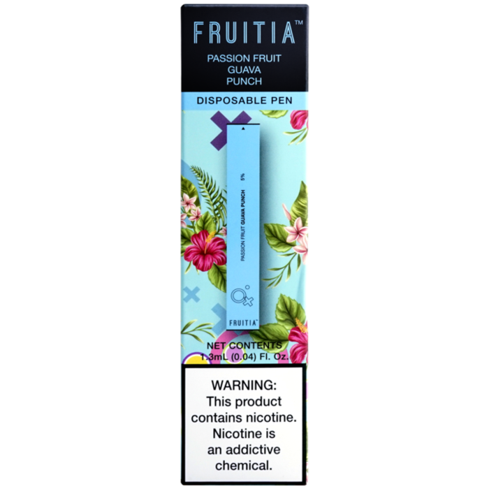 Fruitia Disposable Pen - Passion Fruit Guava Punch