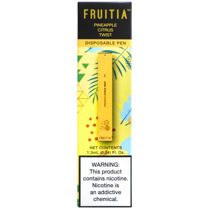 Fruitia Disposable Pen - Pineapple Citrus Twist