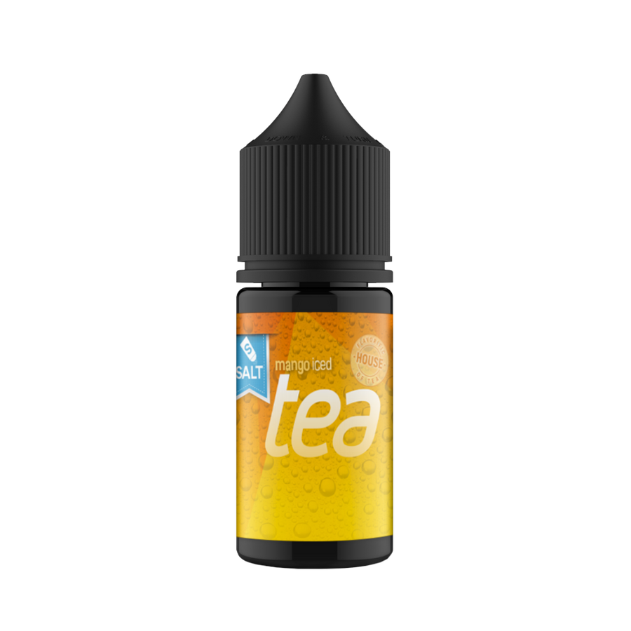 House of Tea Salt - Mango Iced Tea 30ml