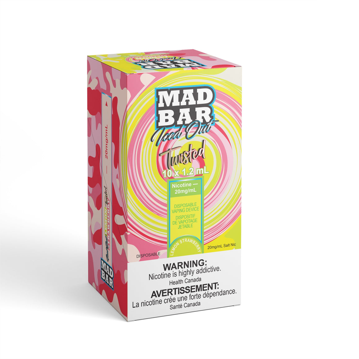 Mad Bar - Iced Out Twisted Lemon Strawberry