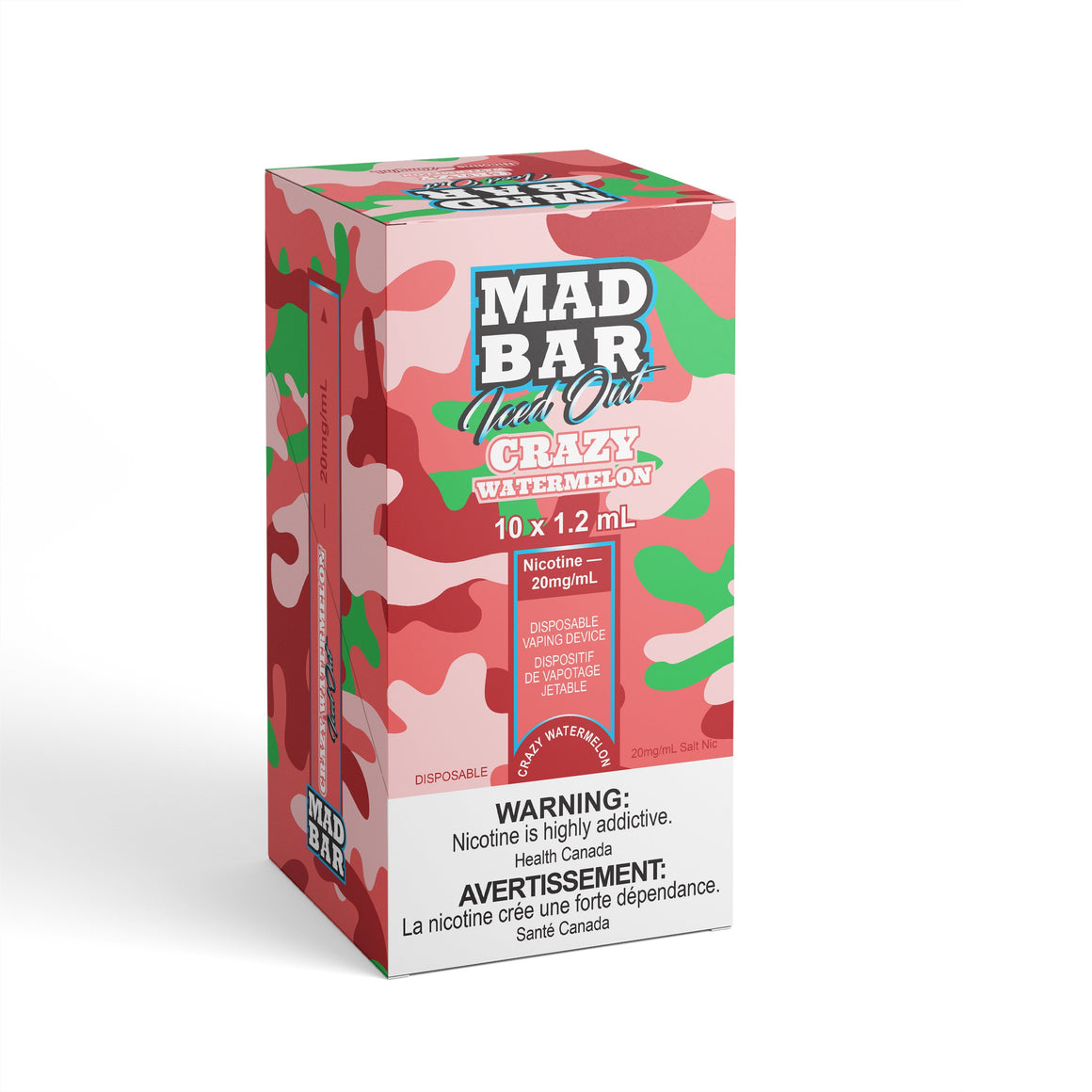 Mad Bar - Iced Out Crazy Watermelon