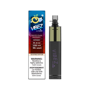 Vibez Disposable - Frosted Peach Raspberry 50mg