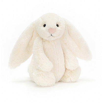 Jellycat Bashful Cream Bunny 12""