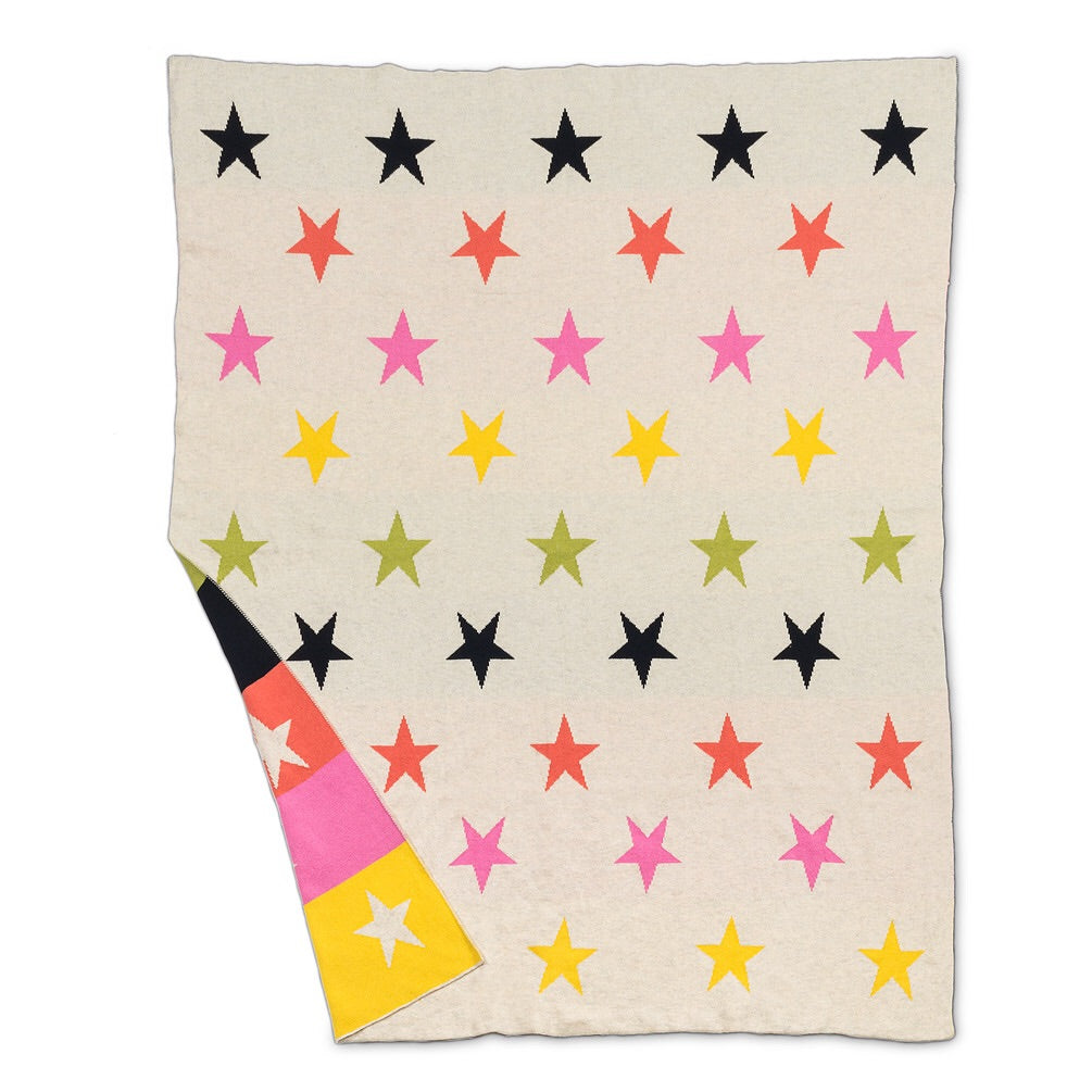 Multi Star Baby Throw
