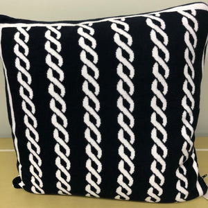 Cushion Nautical Rope Design
