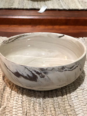 Decor Marbled Bowl