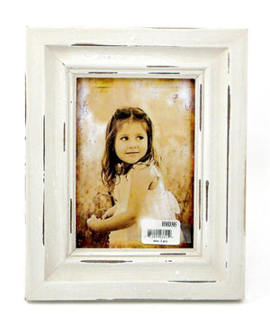 Frame Distressed White Frame