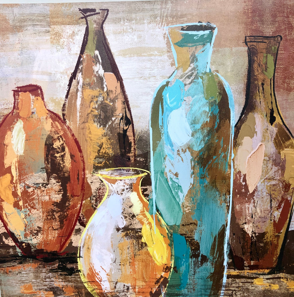 Canvas Vases