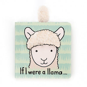 Jellycat Book If I We're a Llama