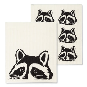 Swedish Dishcloths - Racoons