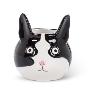 Small Cat minikin Planter