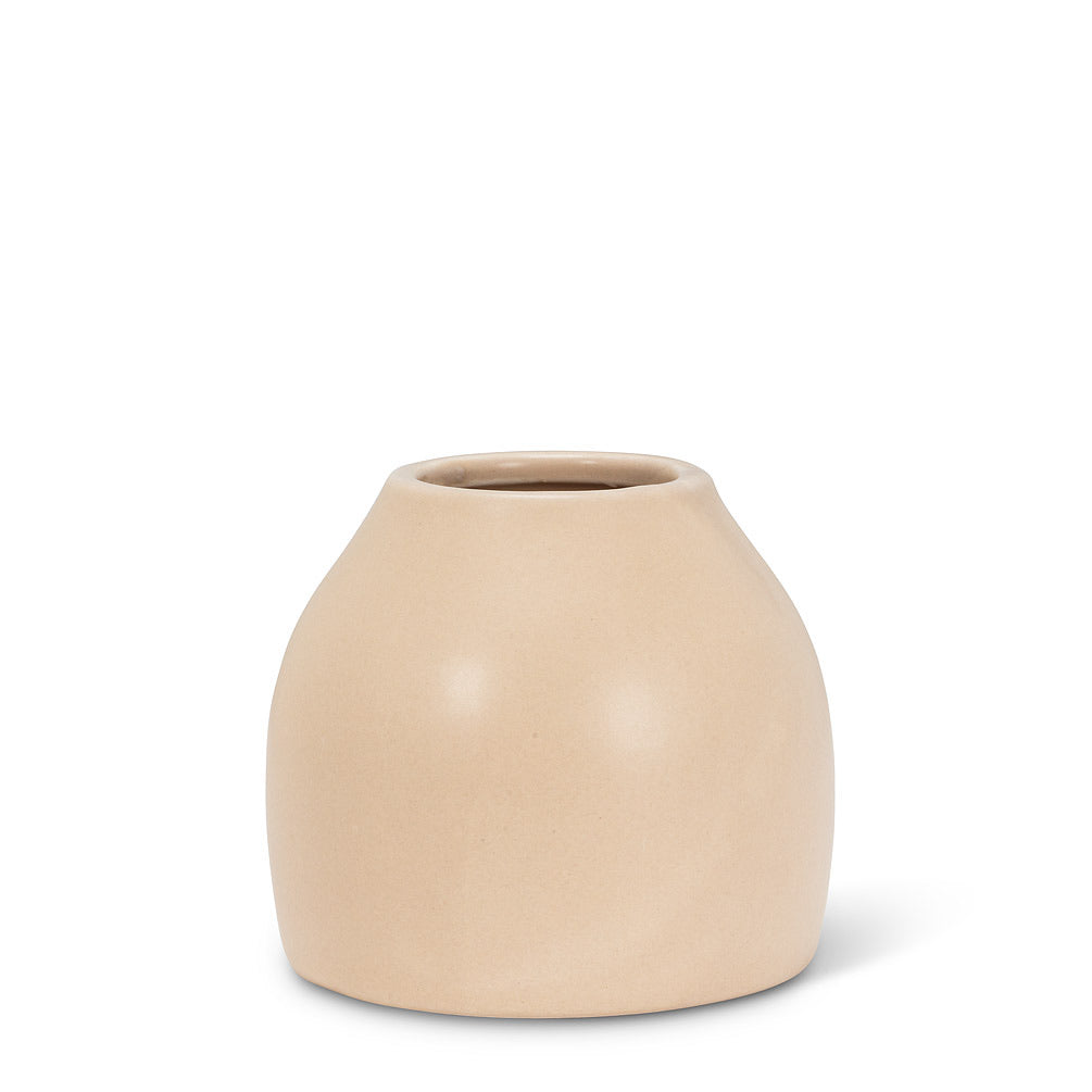 Cashmere Small Taupe Vase