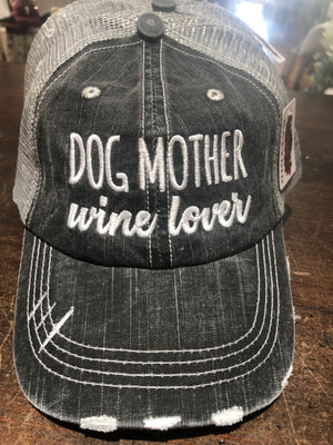 Dog Lover Wine Lover Hat