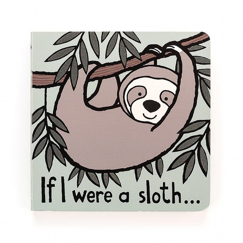 Jellycat Book If I We're a Sloth
