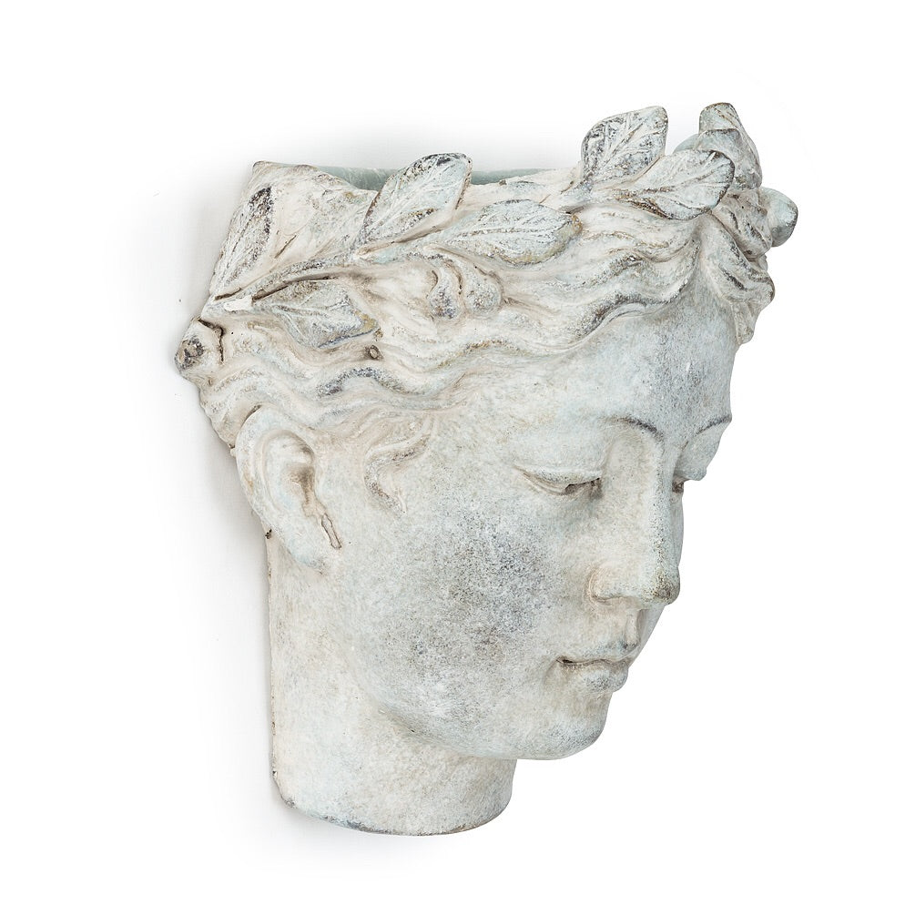 Wall Planter Woman's Head