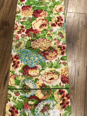 April Cornell Runner Spring Gathering 13 x 72""