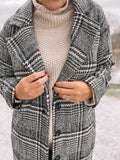 Mad for Plaid Coat