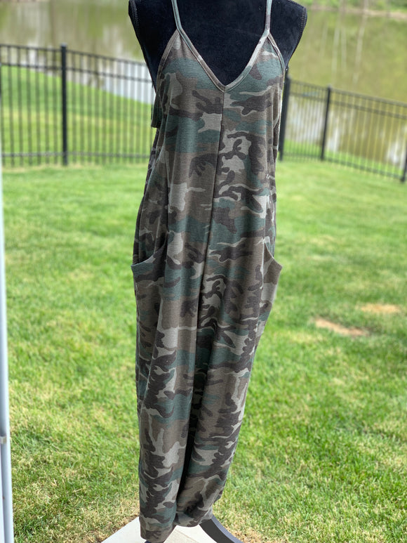 *Army Girl Jumpsuit - S*